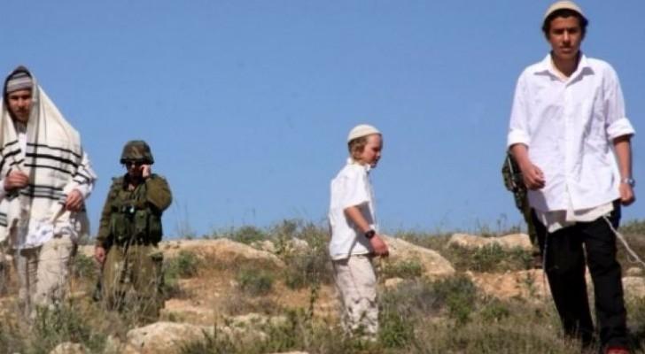 مستوطنون يهاجمون مادما جنوب نابلس