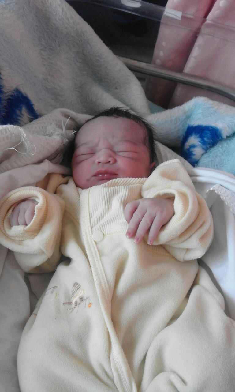 """عمر الشمالي مبارك قدوم مولودك الجديد """"شهم"""""""