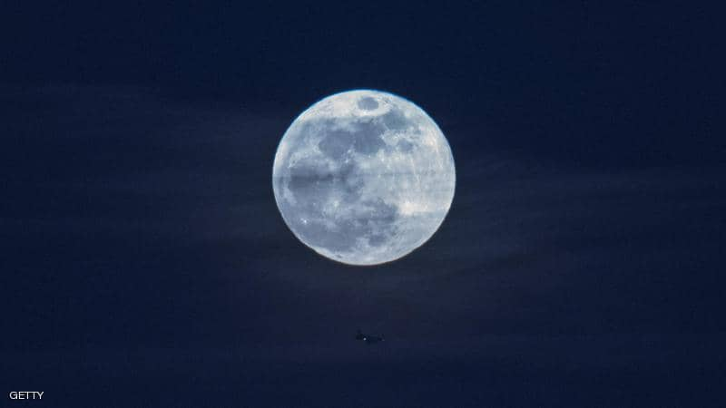 دراسة جديدة تشكك في كيفية نشوء القمر