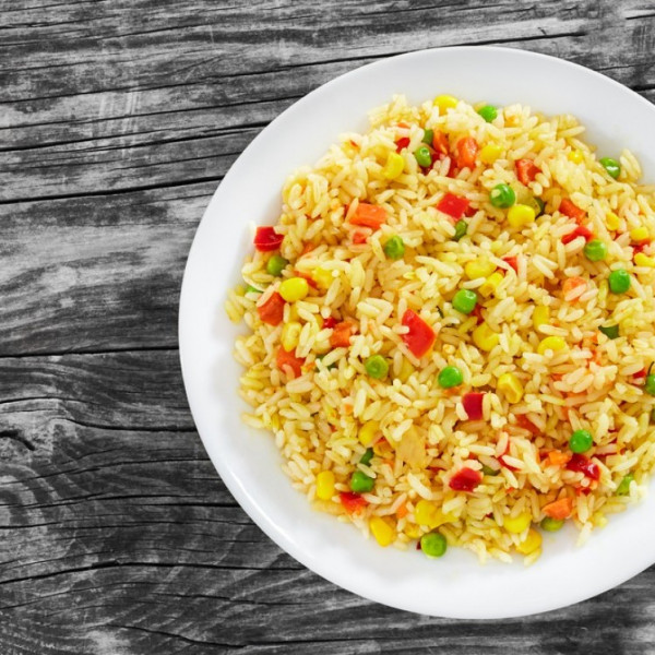 طريقة عمل  ..  الأرز الحار للرجيم