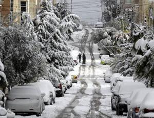الأرصاد: الثلوج واردة في المربعانية