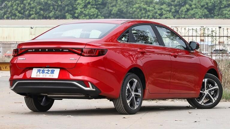 Geely الصينية تزيح الستار عن سيارتها المتطورة الجديدة