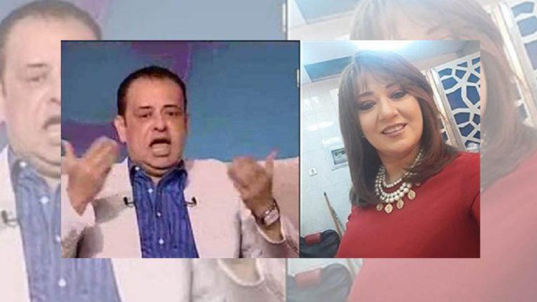 فنان مصري يتهم زوجته الإعلامية بالجمع بين زوجين