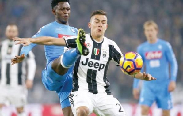 نابولي يستشيط غضبا بعد فوز يوفنتوس في ذهاب نصف نهائي كأس إيطاليا