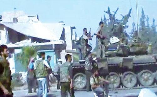 معركة دمشق على الأبواب والأسد خسر 30 ألف مقاتل
