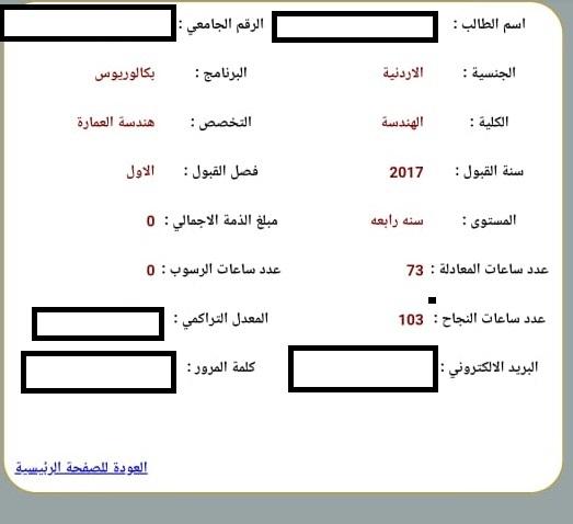 طالبة أردنية تناشد اهل الخير بدفع  ما تبقى من قسطها الجامعي