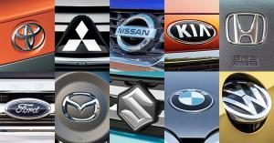 """""""بالأرقام"""" ترتيب أعلى 10 شركات سيارات مبيعاً في العالم لعام 2019"""
