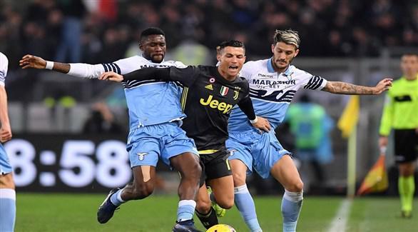 الدوري الإيطالي: يوفنتوس يواجه لاتسيو بهدف استعادة الصدارة