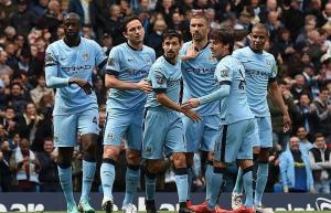 مانشستر سيتي يقلص الفارق مع يونايتد بالفوز على وست هام