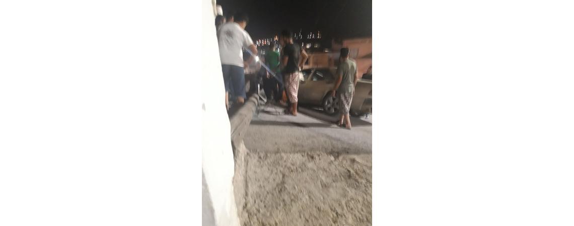 مطب على طريق قلعة عجلون يتسبب بحادث