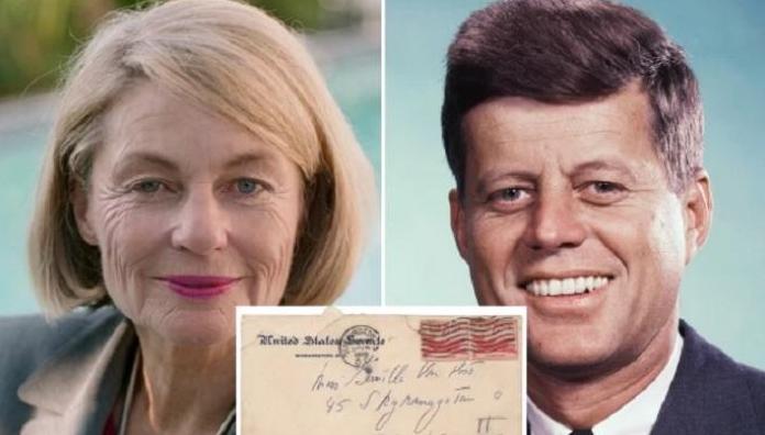 """رسائل كينيدي لـ""""محبوبته"""" السويدية في مزاد للبيع"""