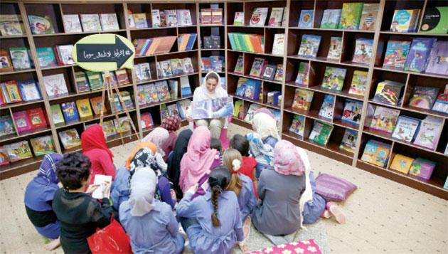 إفتتاح أول مكتبة للأطفال في مخيمات اللاجئين