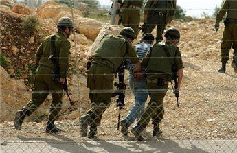 اعتقال 13 مواطنا من نابلس والقدس  ..  اسماء