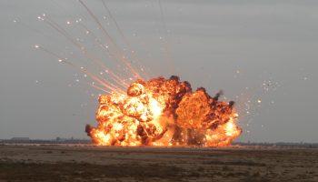 سكان محافظة إربد يسمعون أصوات انفجارات قوية في سورية