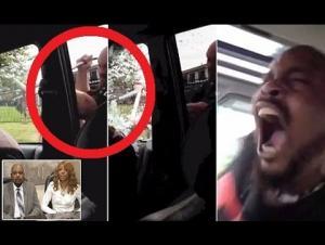 بالفيديو : شرطي يصعق سائقاً بالكهرباء بسبب عدم ارتدائه حزام الأمان !
