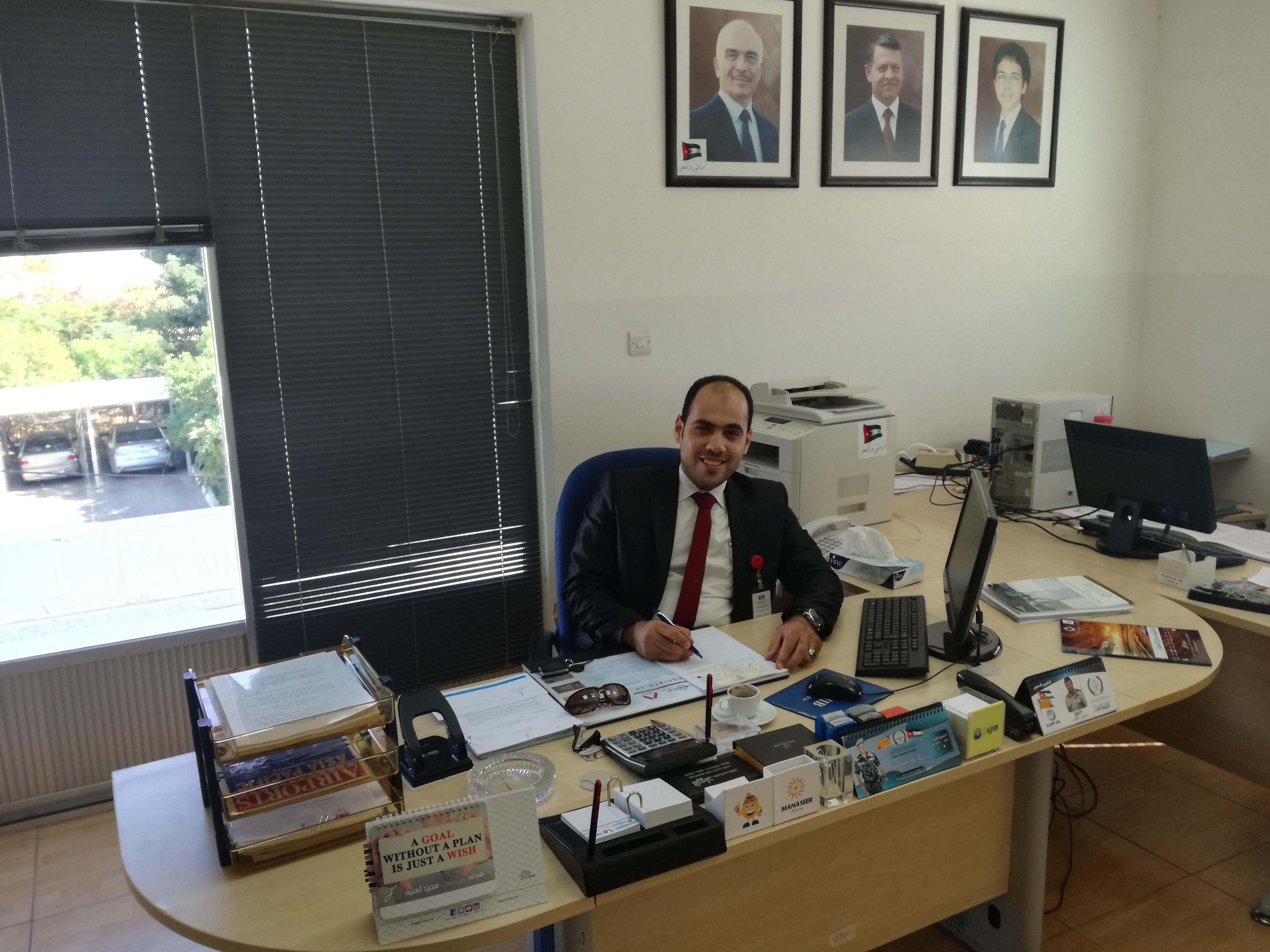 الماجستير بإمتياز ل هشام المطارنه