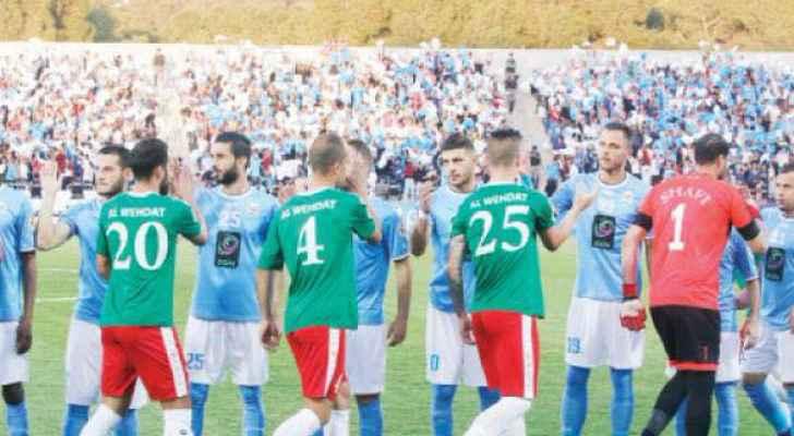 إقامة أول مباراة لفريقي الوحدات والفيصلي بدون جمهور