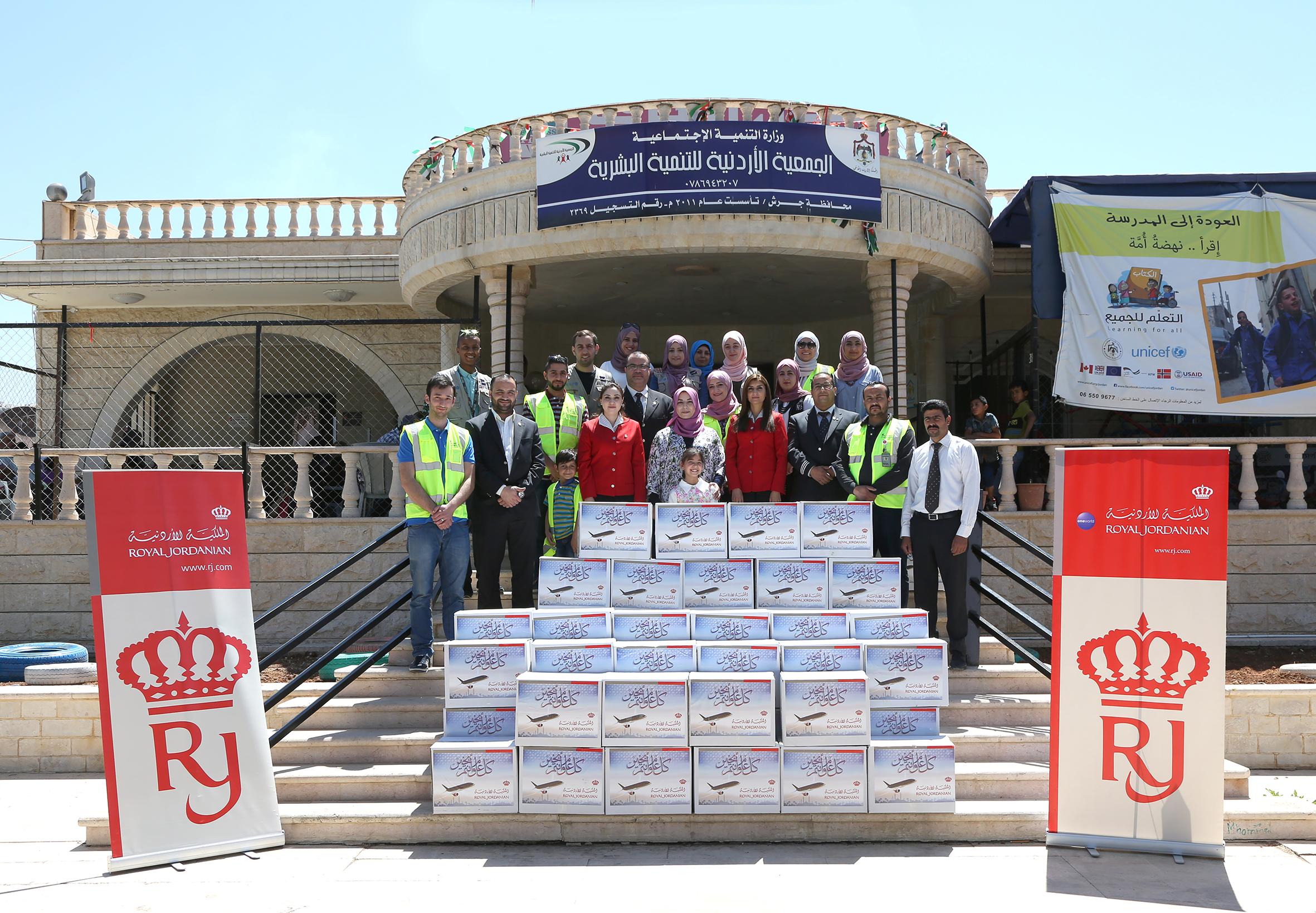 بالصور..الملكيّة الأردنيّة تستكمل حملتها الرمضانية بتكريم المزيد من الأيتام وتوزيع المساعدات في المحافظات
