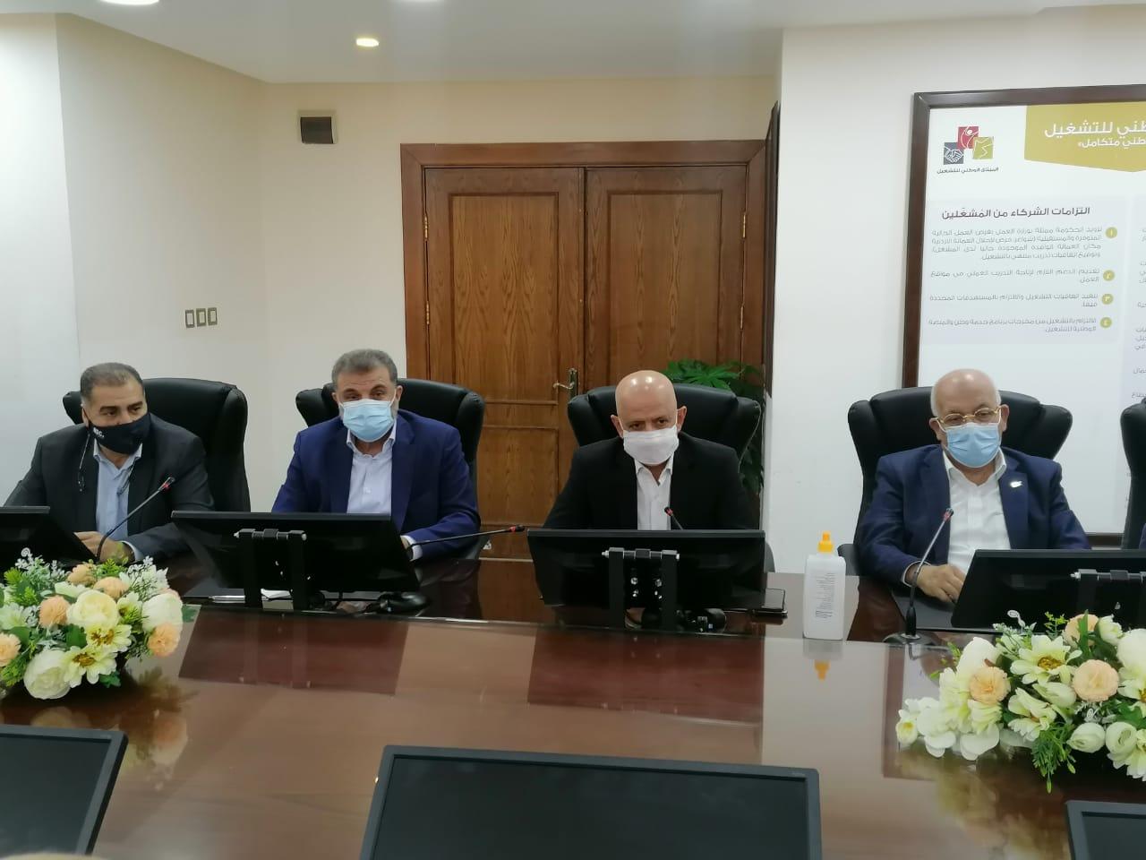الفايز والشمالي يبحثان مع رئيس غرفة تجارة عمان التحديات التي تواجه القطاع السياحي