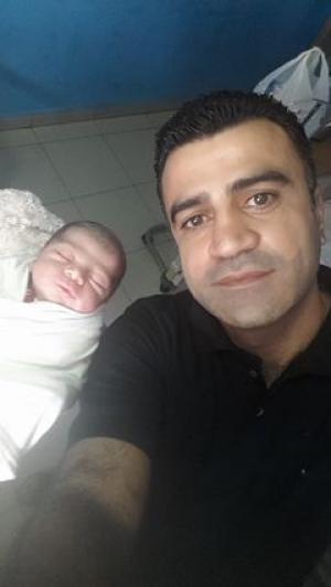 عامر السرطاوي .. مبارك المولود الجديد