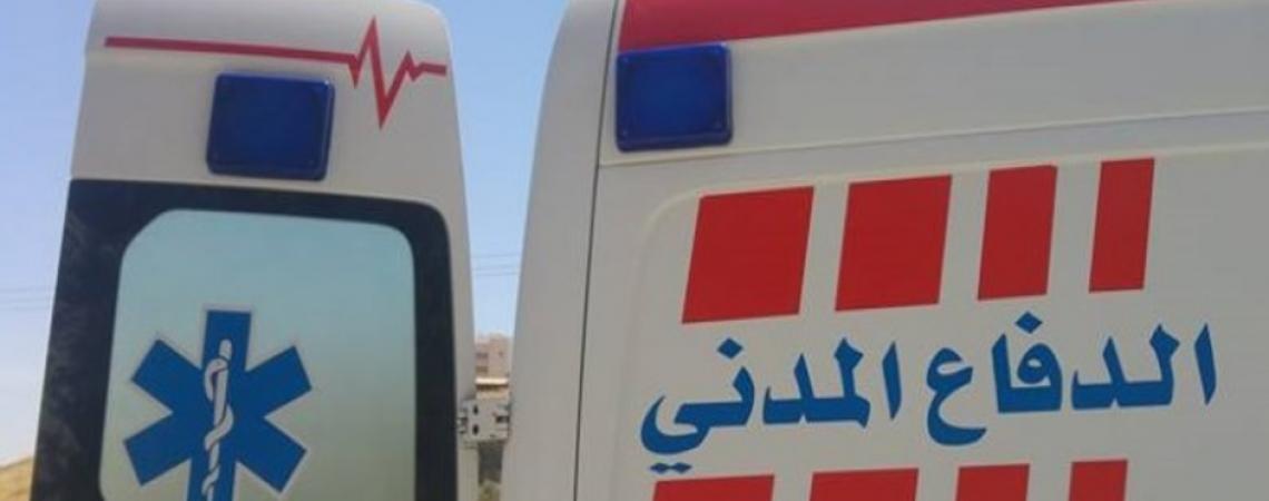 سقوط شخص في حفرة ترابية بعمان
