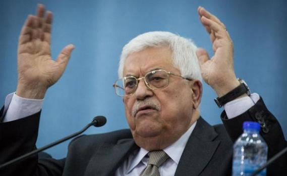 """بالفيديو  ..  الرئيس الفلسطيني محمود عباس في رسالة لعساف: """"إلعن أبوهم"""""""