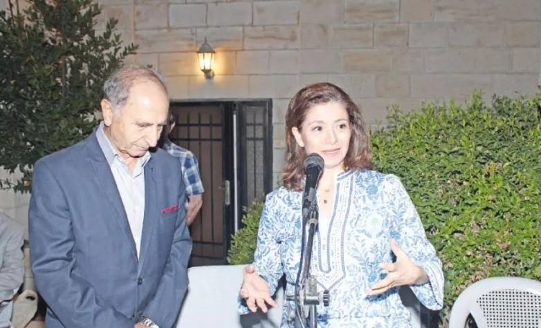 محاضرة لإبراهيم عن مواقع التراث العالمي في الأردن