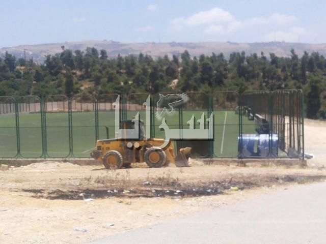 بعد نشر  سرايا عن  الحالة المتردية للمجمع الرياضي في عجلون...ردود فعل  إيجابية في وزارة الشباب
