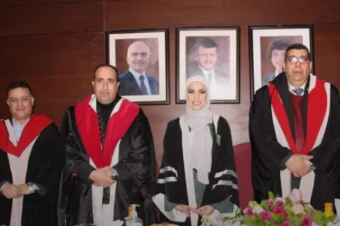 """مريم الرشراش العبادي  ..  ألف مبارك درجة الماجستير بتقدير """"امتياز"""""""