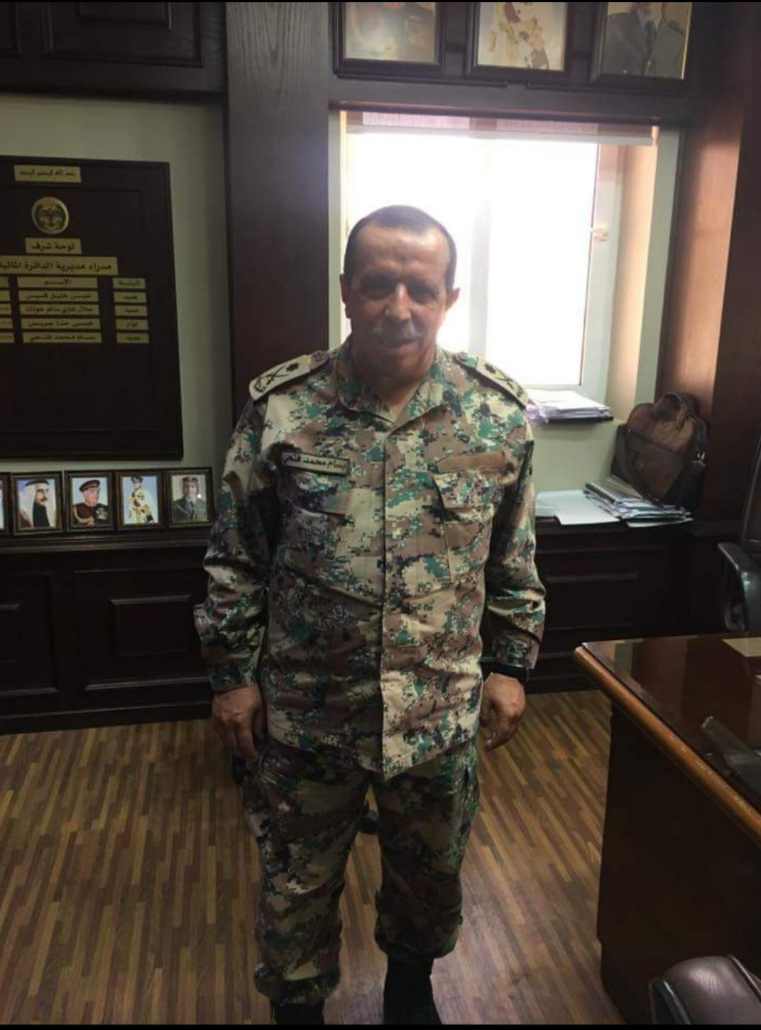 اللواء بسام محمد فتحي مبارك الترفيع