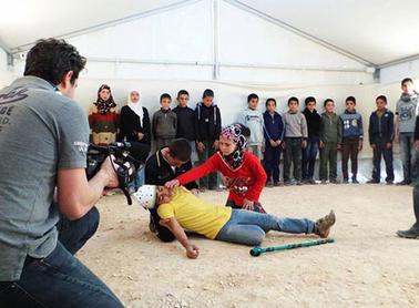 """شكسبير يرافق الأطفال السوريين في """"الزعتري"""""""