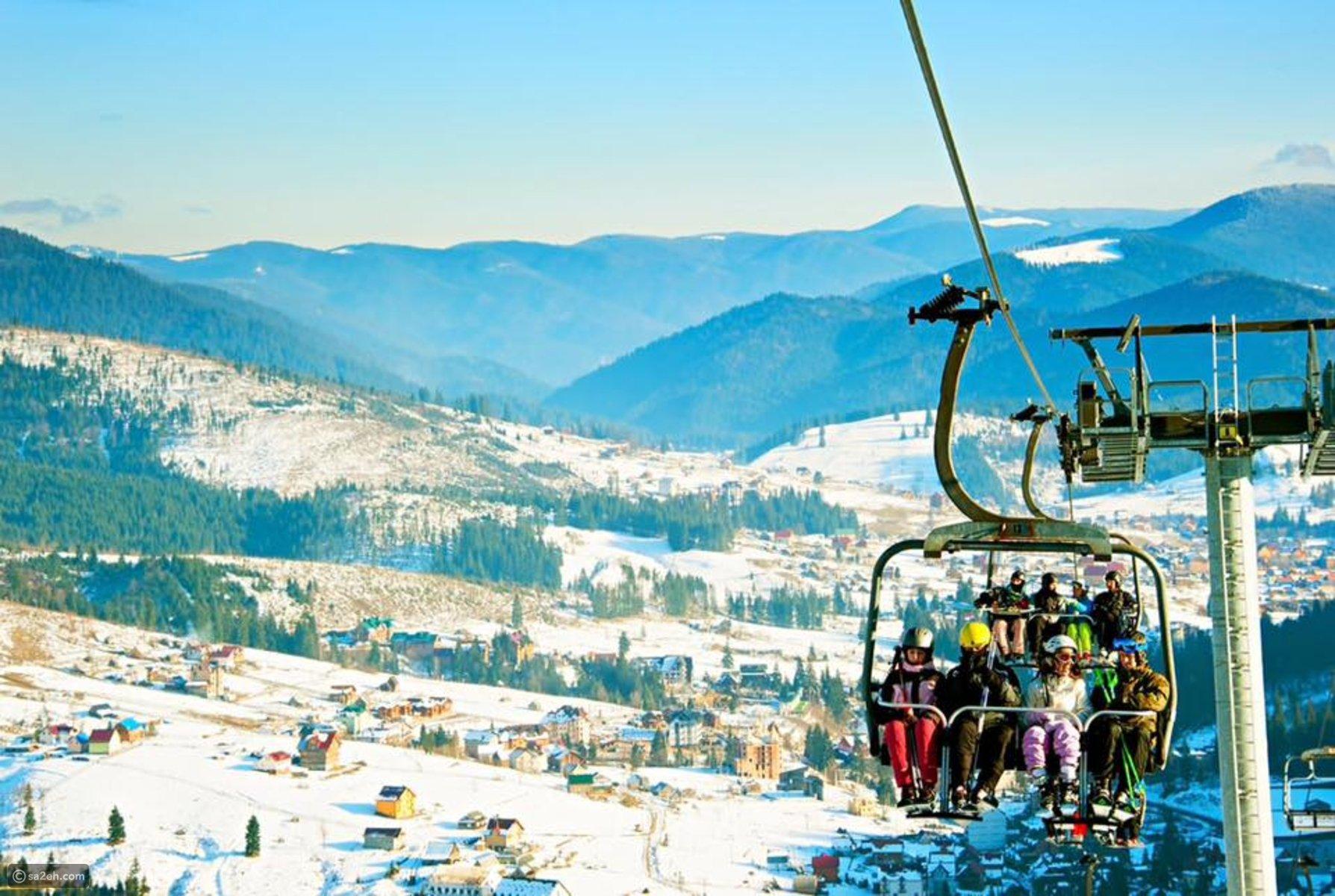 السياحة في بوكوفيل أوكرانيا: أفضل تجربة للتزلج على الجليد