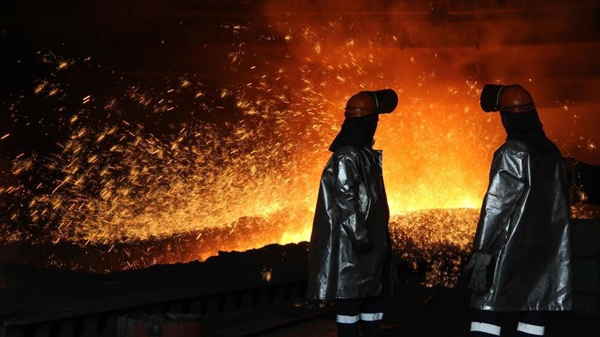 عالميا ..  انخفاض إنتاج الصلب 0.9 بالمئة خلال 2020