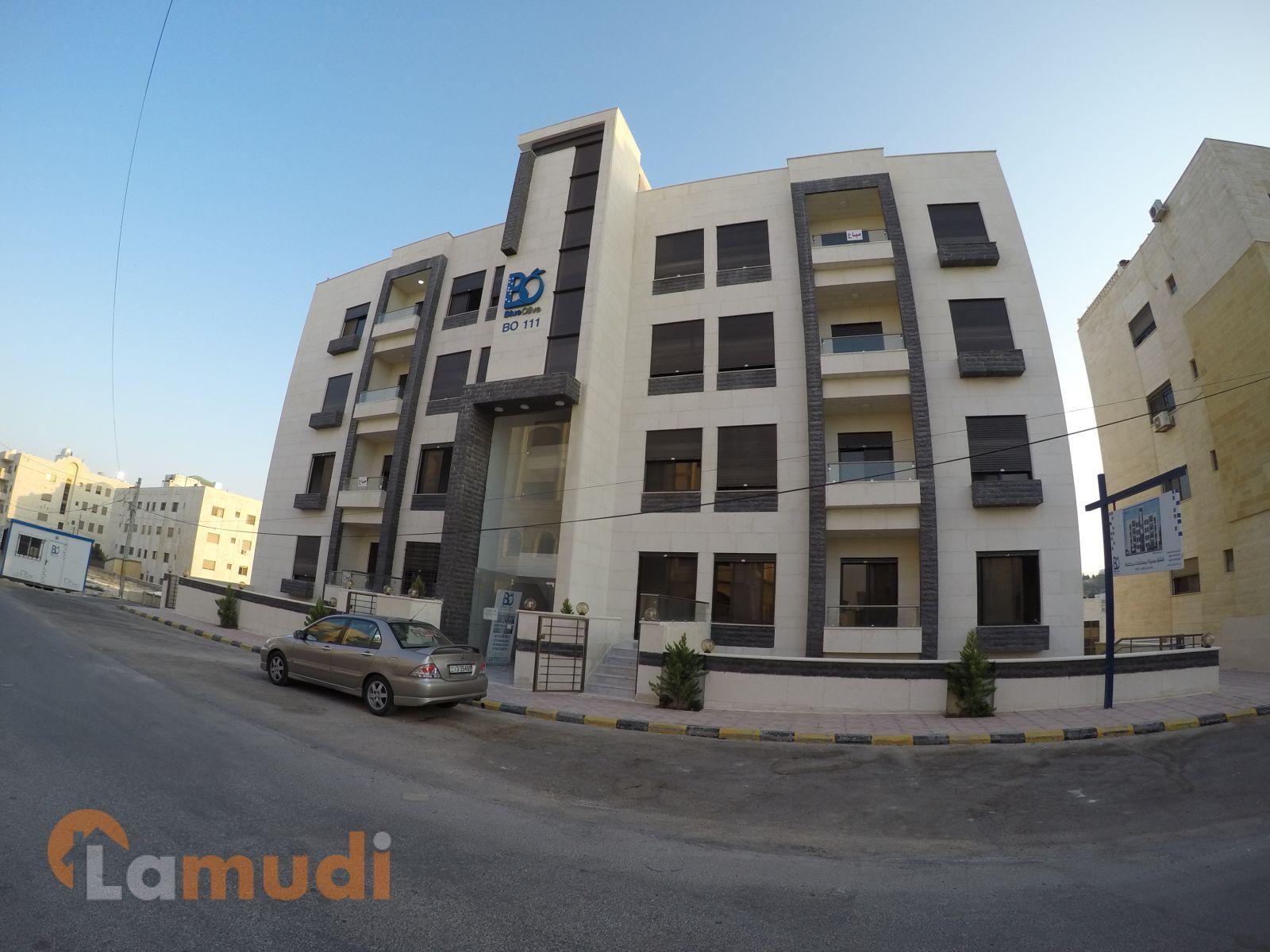شقة 120 م طابق اول في منطقة راقية في الجبيهة
