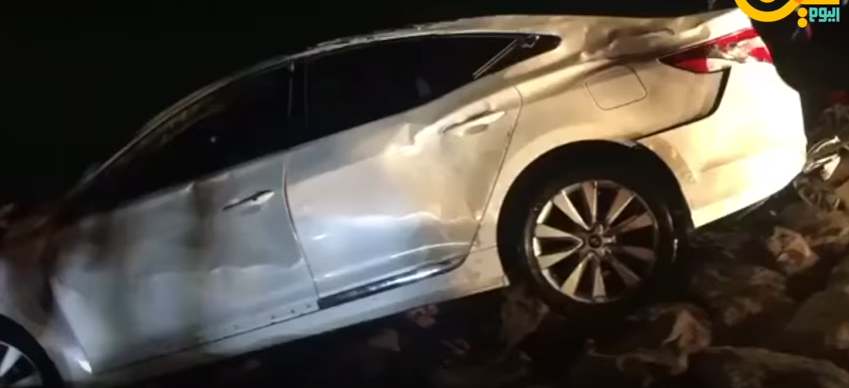 السعودية بالفيديو.. وفاة 6 أشخاص  سعوديين بعد سقوط سيارتهم في البحر