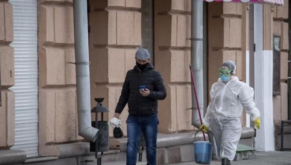أعلى حصيلة يومية  ..  روسيا تسجل 232 وفاة بكورونا