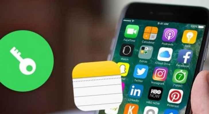 """أمّن """"ملاحظاتك"""" في آيفون واستخدم Touch ID"""