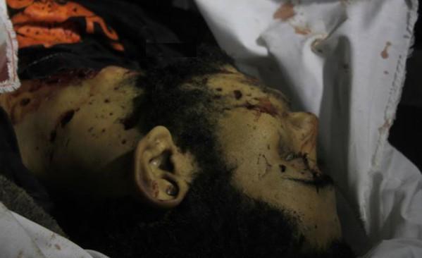 بالصور و الفيديو  ..  شهيدان و 3 اصابات في غزة