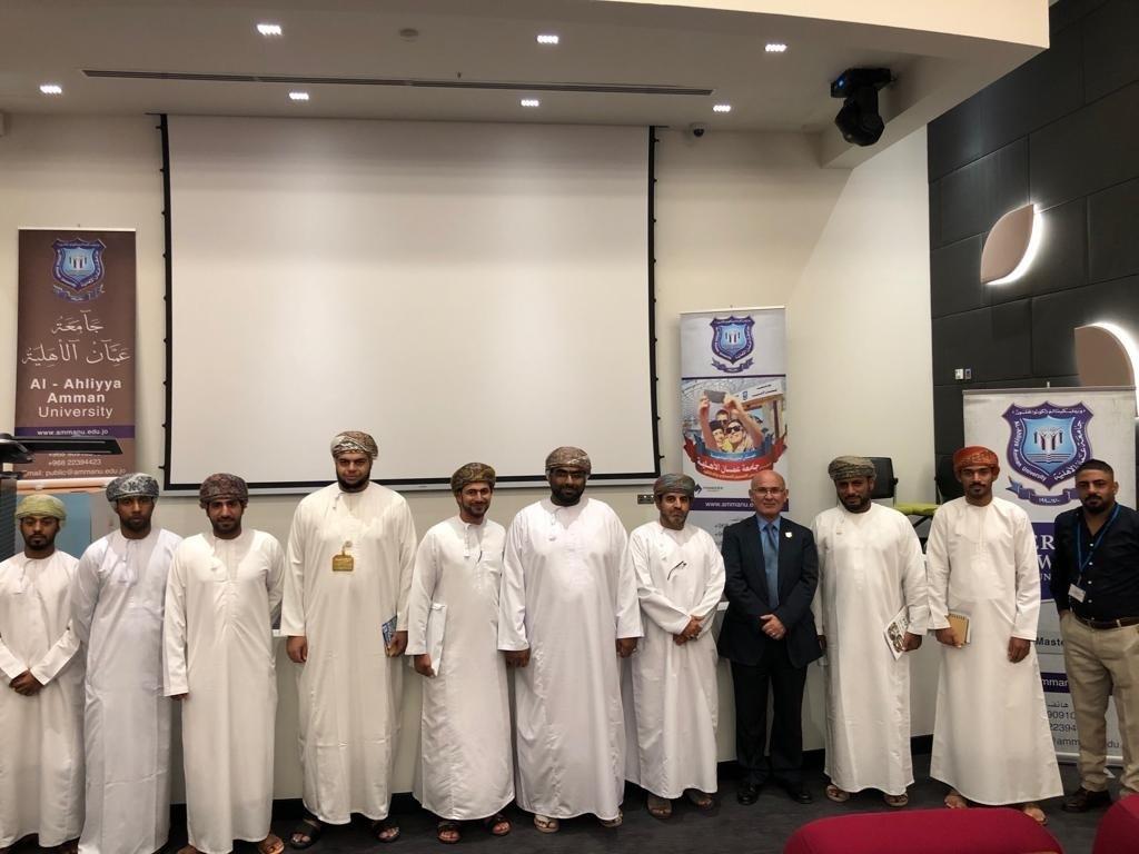 ندوة عن جامعة عمان الاھلیة في سلطنة عمان