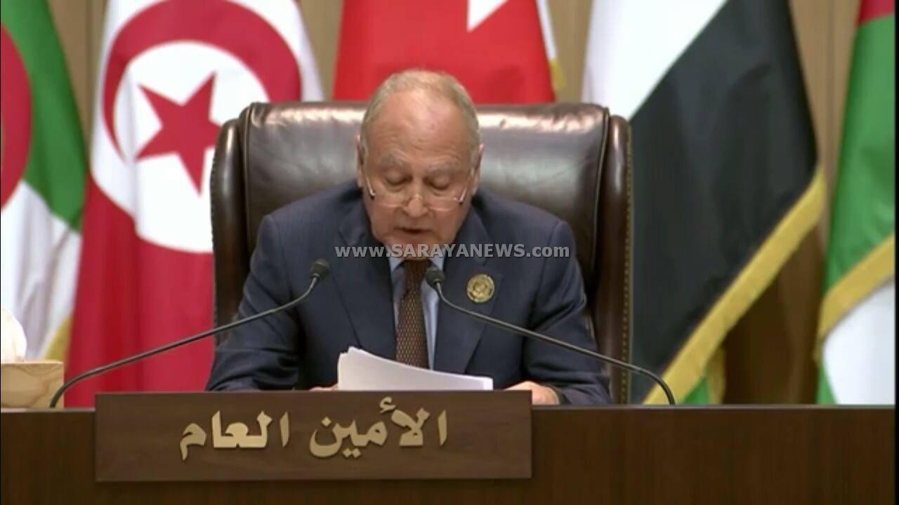 ابو الغيط: هناك جهات تحاول نهش الجسد العربي و على الجهات التي تدعمها اعادة حساباتها