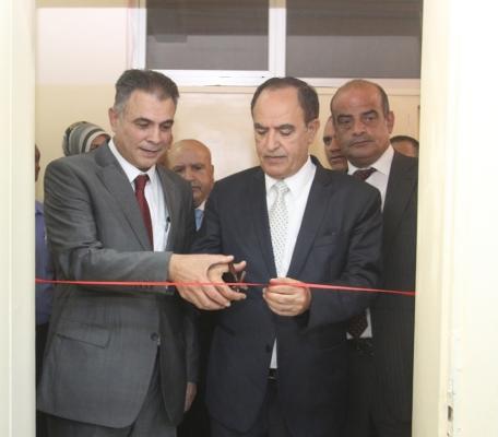 افتتاح مختبر تكنولوجيا الصناعات الكيماوية في كلية الكرك الجامعية