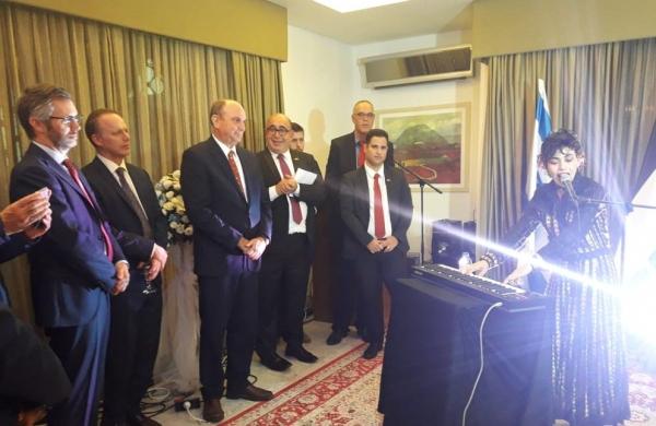 """شخصيات اردنية في عيد استقلال """"الكيان"""" تثير رواد مواقع التواصل الاجتماعي"""