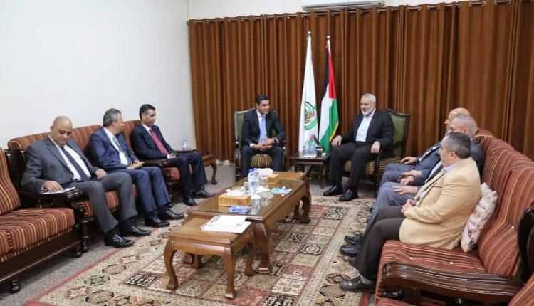 وفد مصري يصل غزة لنزع فتيل الأزمة الحالية