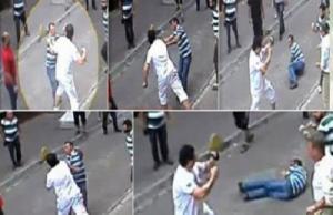 عربي من مواليد الكويت يعارك 15 تركيا في شارع باسطنبول ويشبعهم ضربا