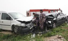 اريحا : اصابة 9 اشخاص في حادث سير