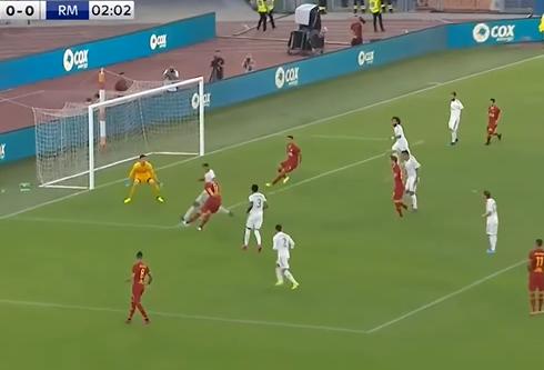 بالفيديو  ..  ريال مدريد يخسر أمام روما بركلات الترجيح بمشاركة بايل