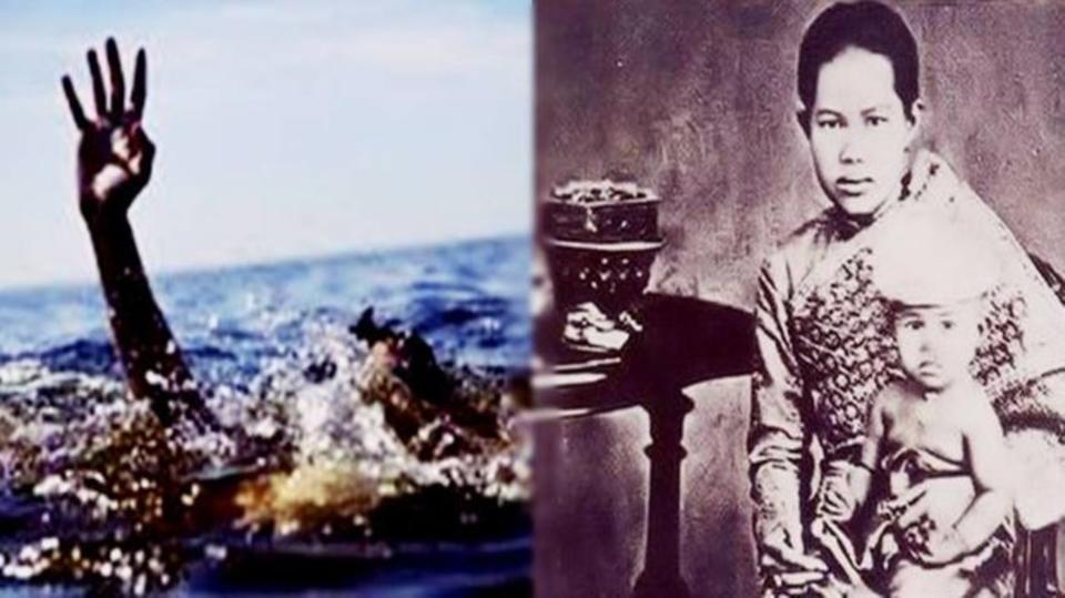 قانون غريب أودى بحياة ملكة تايلاند  ..  ووقف اللآلاف يتفرجون عليها تغرق