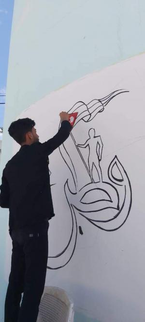 مركز شباب القادسية يطلق مبادرة اردن خالي من الكورونا