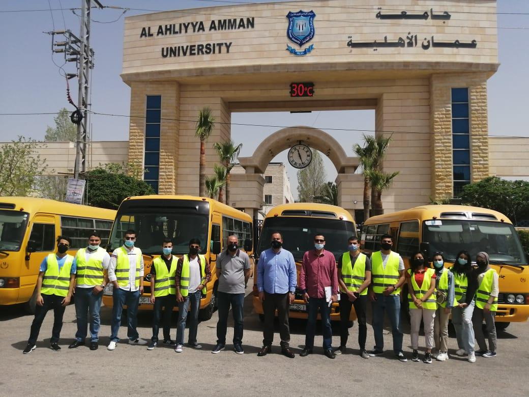 عمان الأهلية تطلق الحملة الخيرية لدعم الأسر العفيفة ضمن احتفالاتها بمئوية تأسيس الدولة الأردنية وقدوم شهر رمضان المبارك