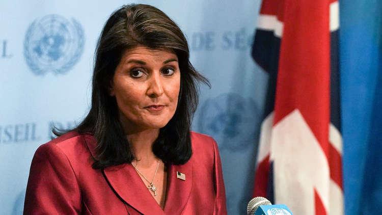 مساعدو ترامب ينصحونه بتعيين امرأة خلفا لهايلي في الأمم المتحدة
